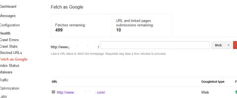 check site health google webmaster